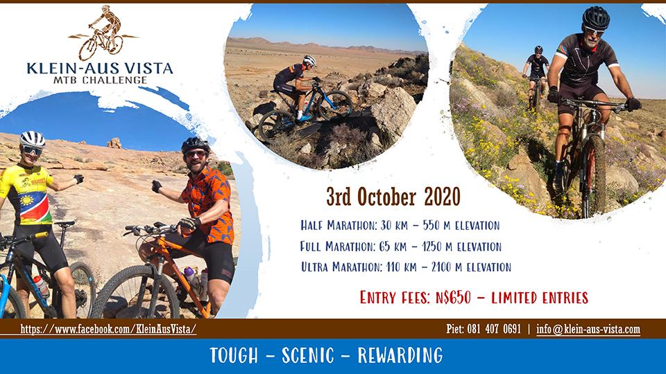 Klein-Aus Vista Mountainbike Challenge 2020